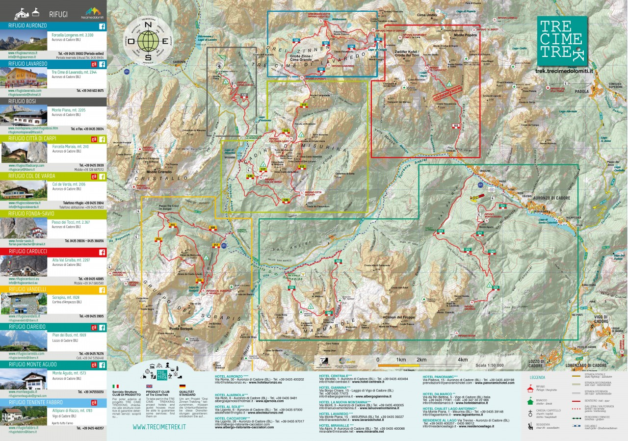 Tre cime di lavaredo best day hikes in the dolomites frugal frolicker pdf map gumiabroncs Choice Image