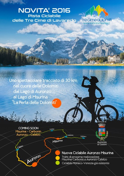 Tre Cime Cycle Path