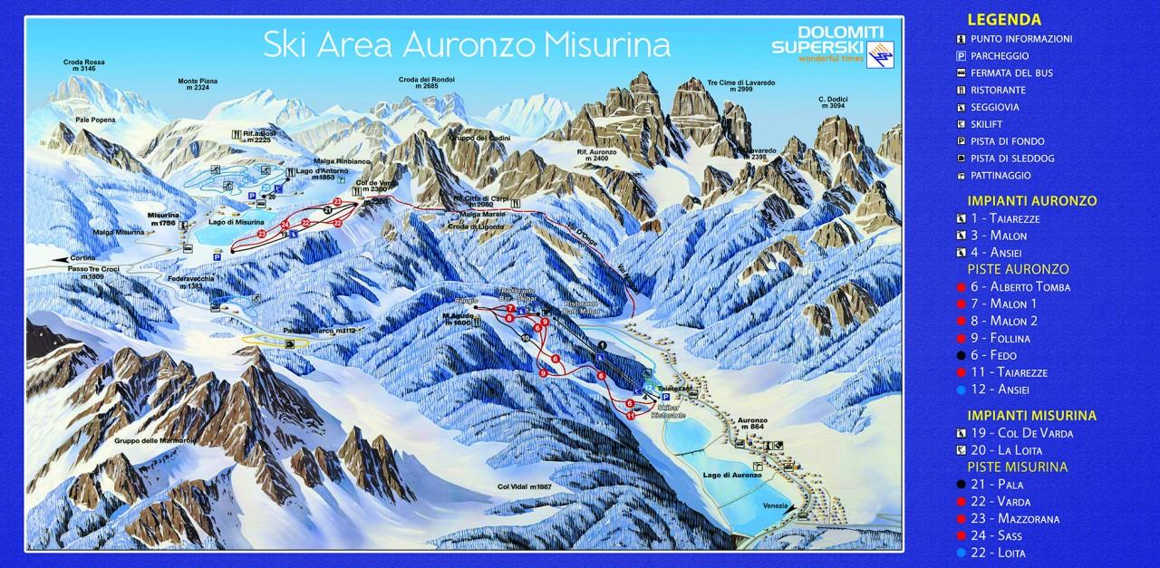 Area Sci Auronzo Auronzo Misurina
