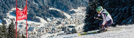Gli impianti di sci di Monte Agudo ad Auronzo di Cadore.